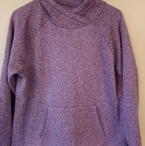 Girls purple sweatshirt